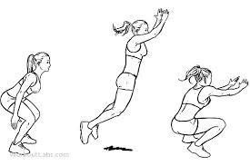 long jump exercise