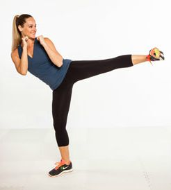 side kick exercise
