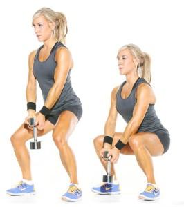 squat pulse exercise
