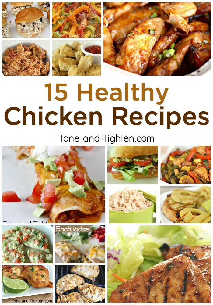 15 healthy chicken recipes tone and tighten 15 healthy chicken recipe skinny food dinner forumfinder Images
