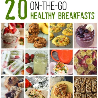 20 On-The-Go Healthy Breakfasts on Tone-and-Tighten.com