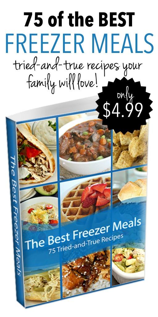 75 of the Best Freezer Meals no logo