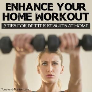 enhance improve home workout tone tighten