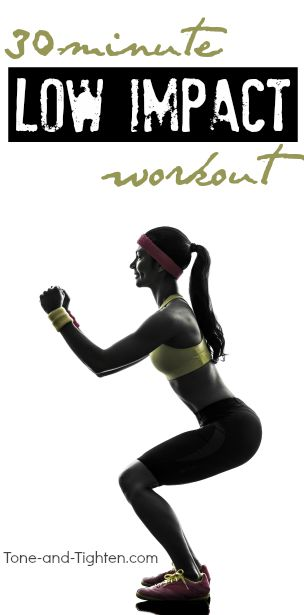 low-impact-workout-at-home-pinterest