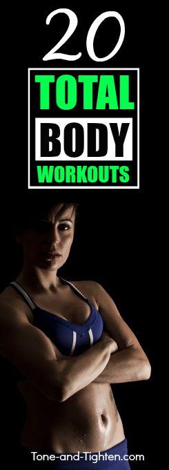 total body workout tone tighten pinterest