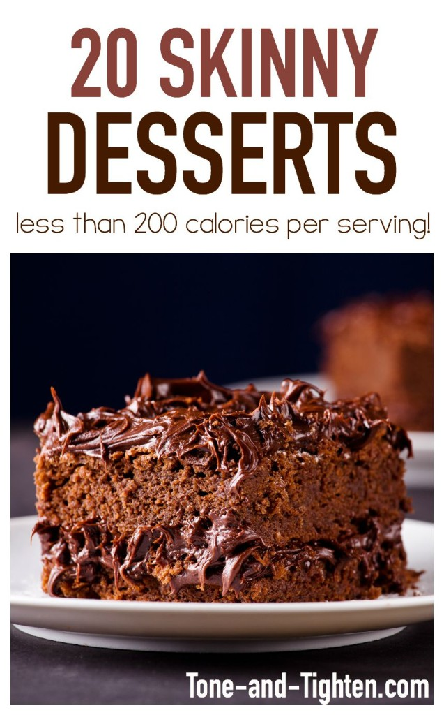 20 Skinny Desserts on Tone-and-Tighten.com