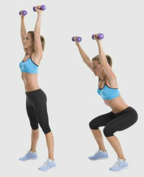 At-Home Leg Workout Wi... Deadlifts With Dumbbells