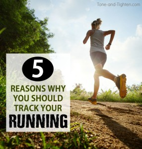 reasons why you should track your running tone tighten