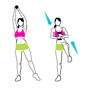 Standing Abs Core Workout Tone And Tighten
