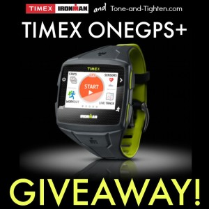 timex onegps+ giveaway tone tighten