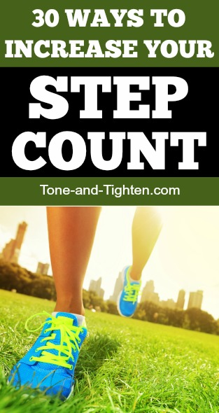 ways to increase daily step count activity pinterest fitness