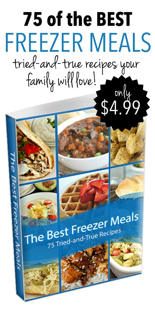 75 of the Best Freezer Meals no logo