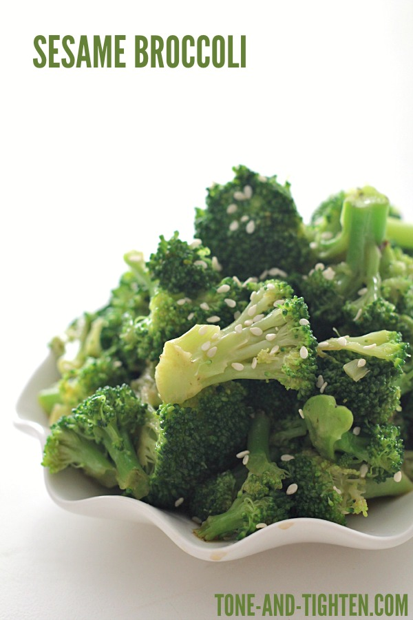 Sesame Broccoli on Tone-and-Tighten.com