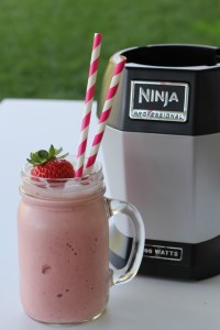 Strawberry Banana Smoothie Ninja Blender