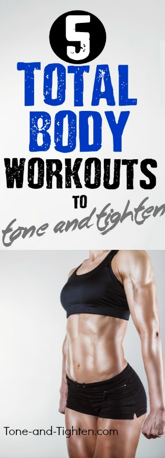 at home total body workout tone tighten pinterest