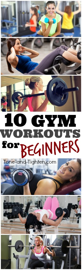 best gym workout beginner pinterest exercise