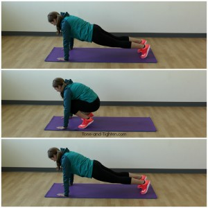 double mountain climber exercise