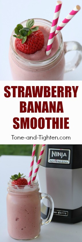 strawberry-banana-smoothie-recipe-pinterest