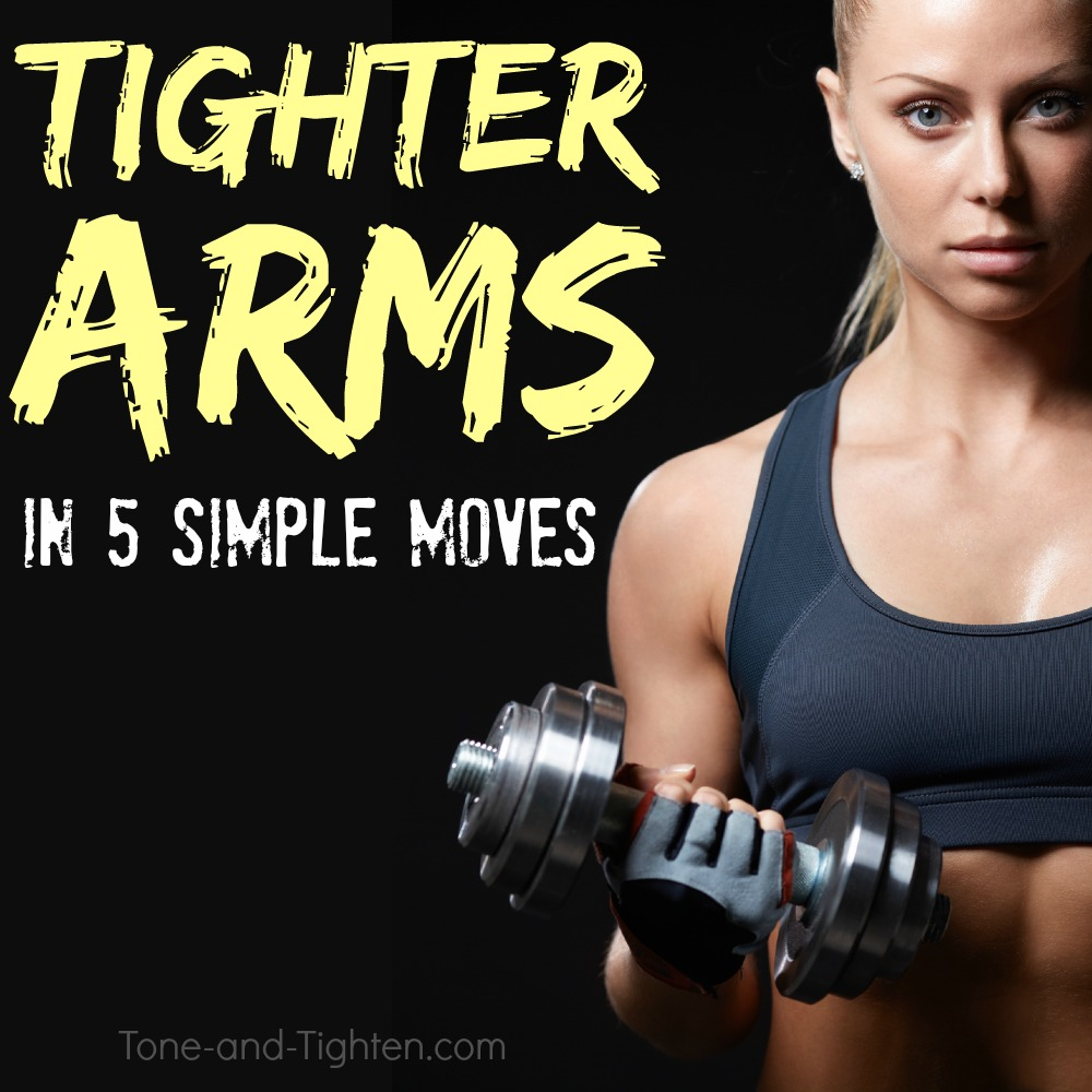 tone tighten arms workout at home