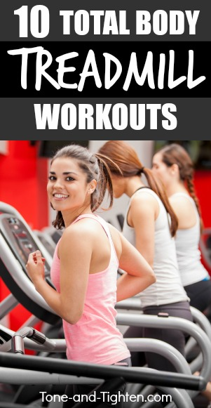 10 total body workouts on a treadmill