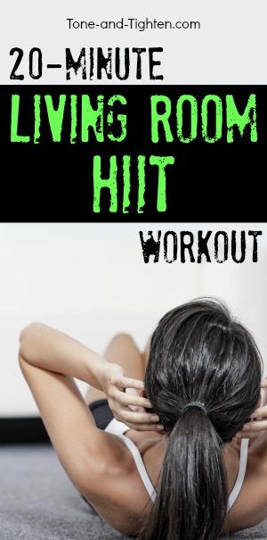 Delightful 20 Minute Living Room Hiit Workout Pinterest Part 17