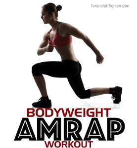 30-minute bodyweight workout at home tone tighten