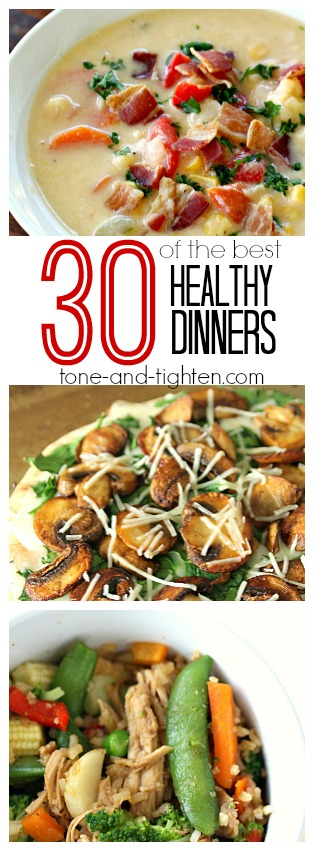 30 of the best healthy dinners pin