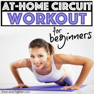 at home circuit workout for beginners tone tighten