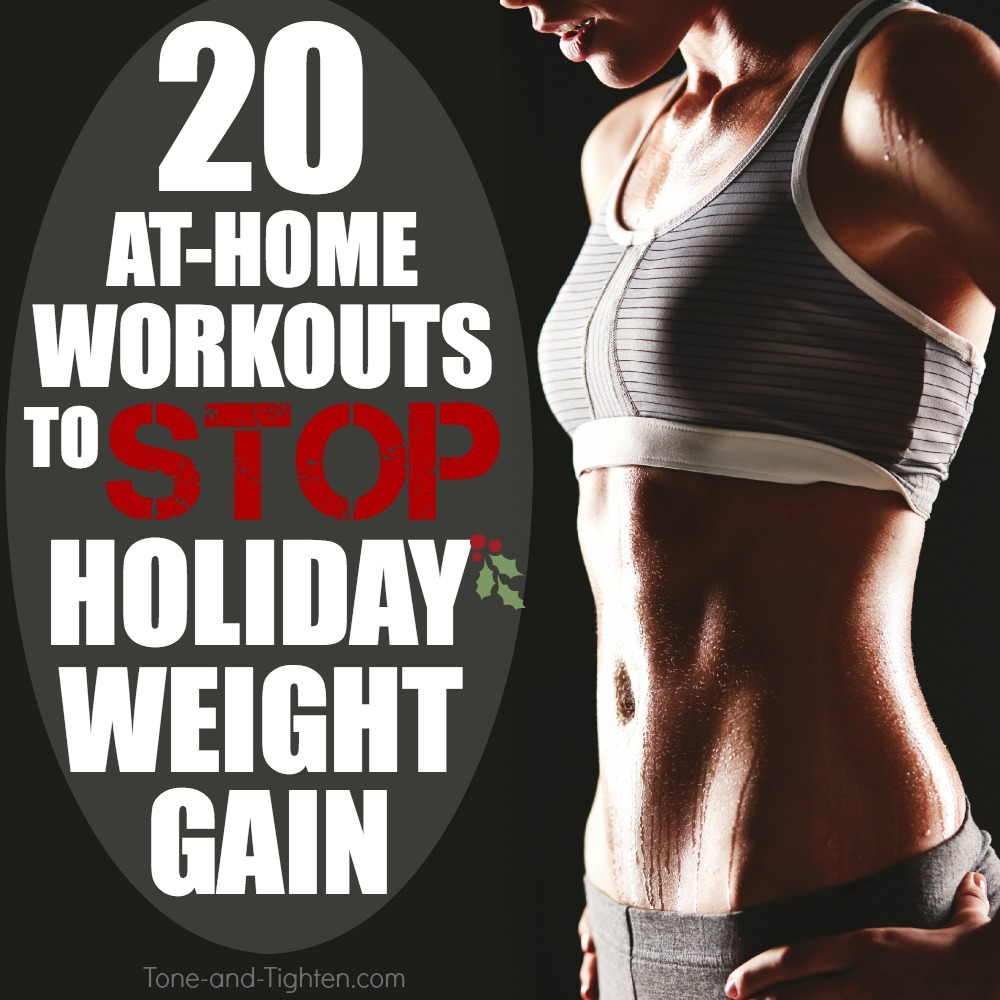 best at home workouts for holiday weight gain