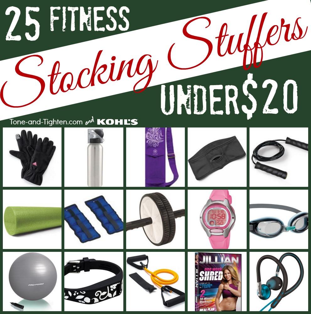 best fitness stocking stuffers under 20 dollars