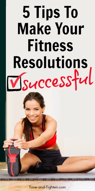 how to make fitness resolutions successful pinterest