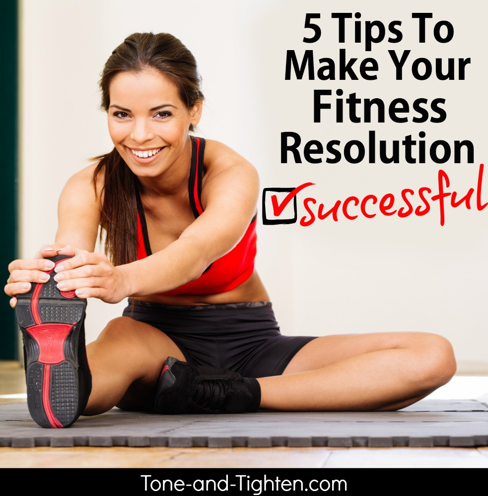 how to make successful fitness resolution