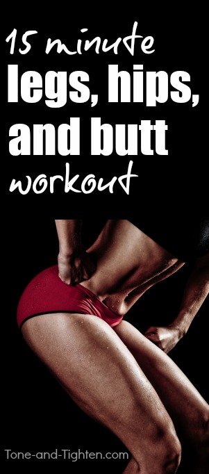 legs hips butt workout at home pinterest