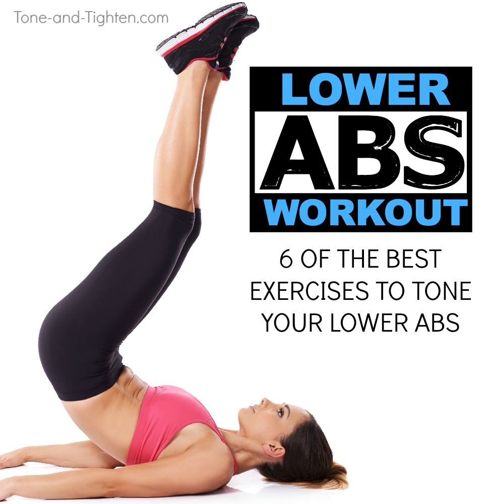 lower abs workout best exercises
