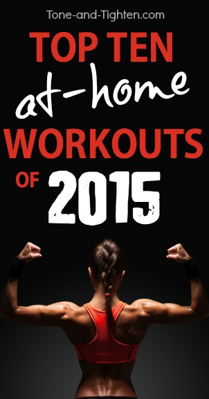 top ten at home workouts 2015 pinterest