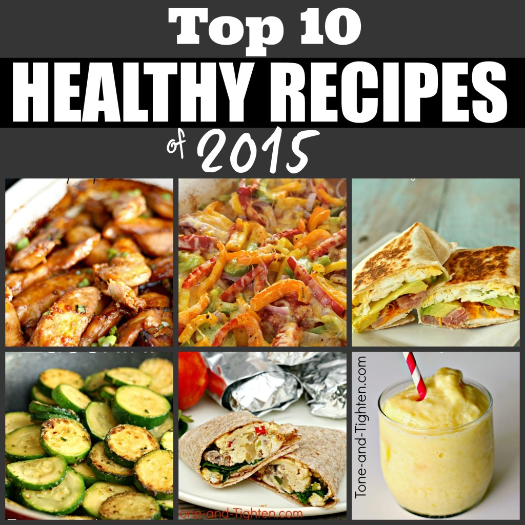 top ten best healthy recipes 2015
