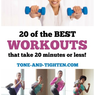 20 of the best Workouts on Tone-and-Tighten