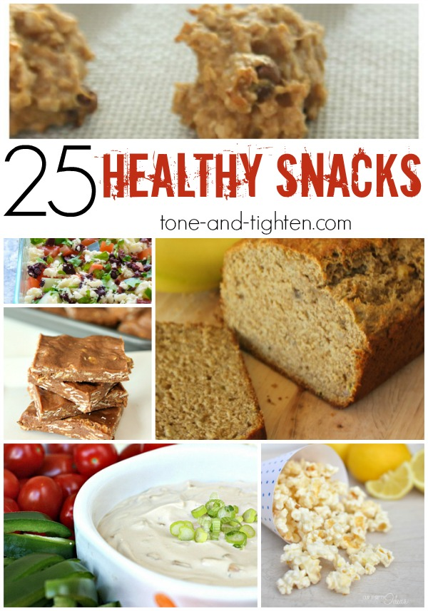 25 Healthy Snack Recipes