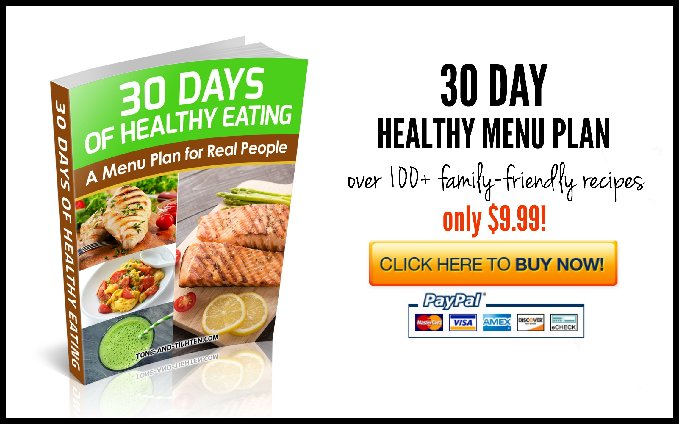 30 day healthy eating menu plan tone and tighten each recipe also includes the nutrition information so that you know exactly what each fandeluxe
