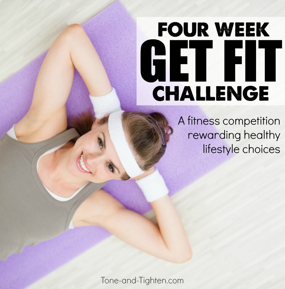4 week get fit challenge tone tighten