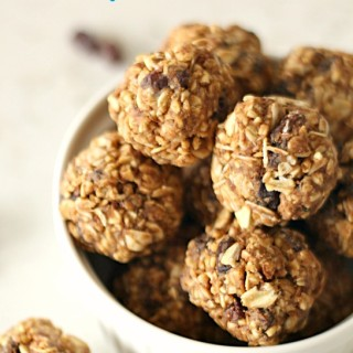 Oatmeal Raisin Cookie Energy Bites on Tone-and-Tighten.com