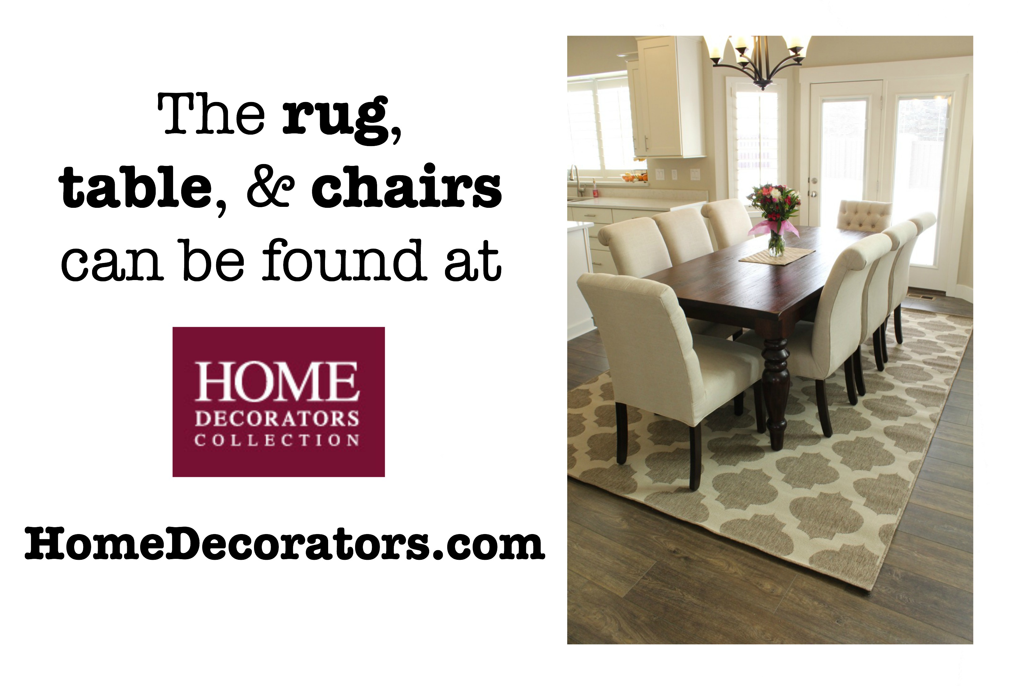 Here Are The Links To Furniture That I Have In My Home Table Is Walton Dining Chairs Rolled Back Parsons