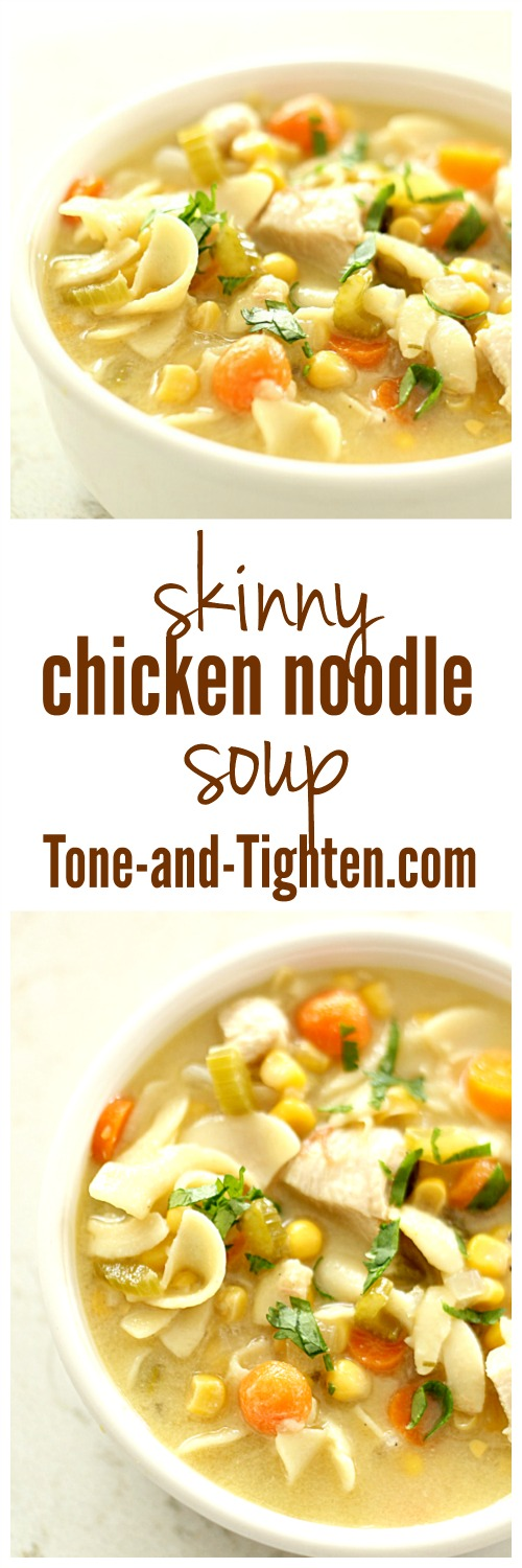 Skinny Chicken Noodle Soup from Tone-and_Tighten