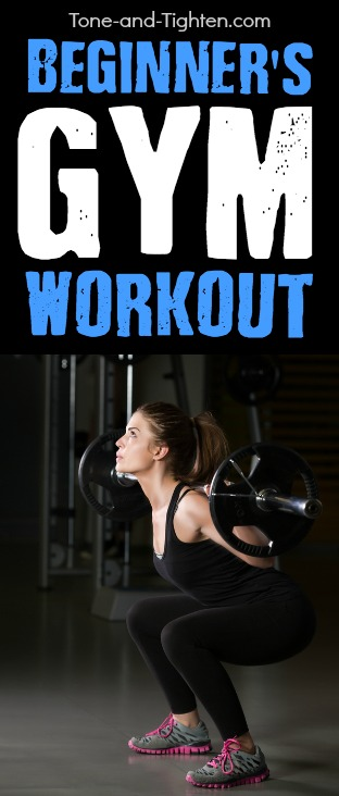 beginner gym workout pinterest