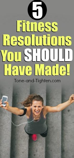 best fitness resolutions pinterest