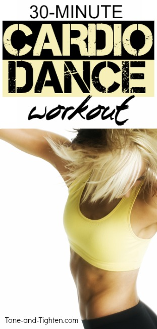 cardio dance workout at home pinterest
