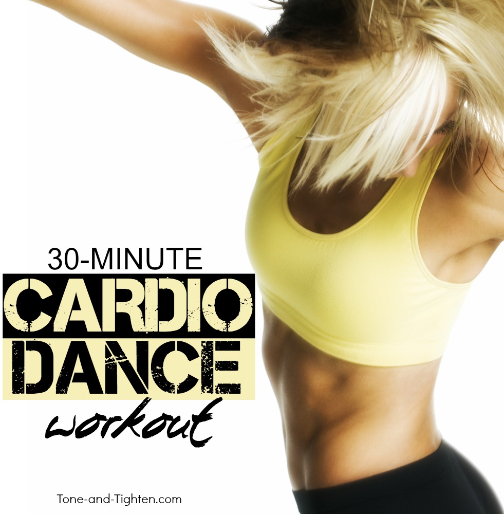 cardio dance workout at home