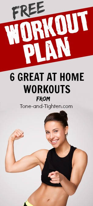 free at home workout plan pinterest
