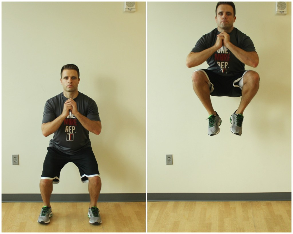 tuck jump exercise