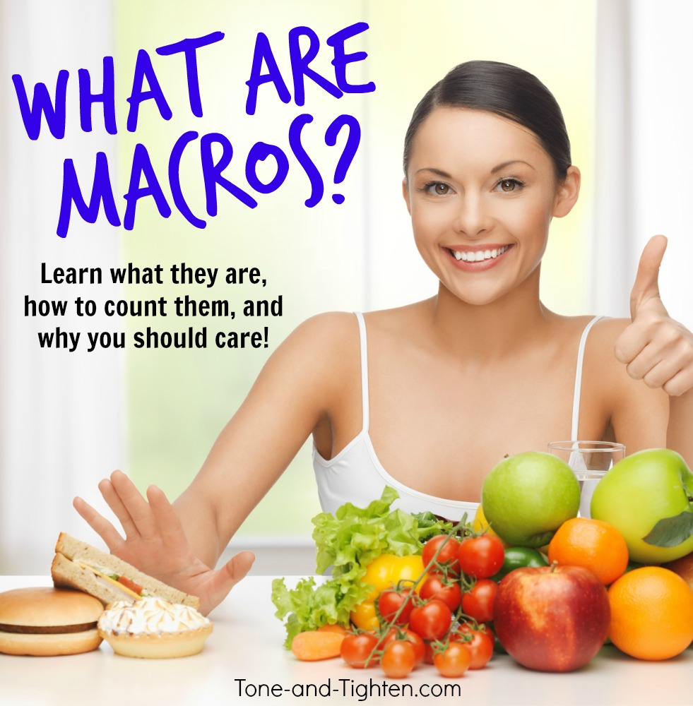 what are macros how to count
